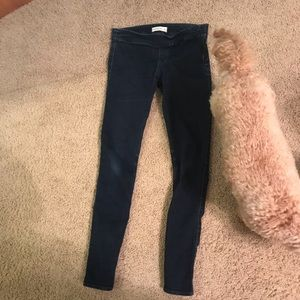 Super unique Abercrombie & Fitch jeggings